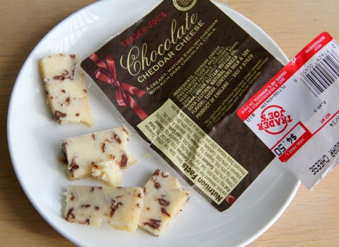 Chocolate Cheddar Cheese on Shockingly Delicious