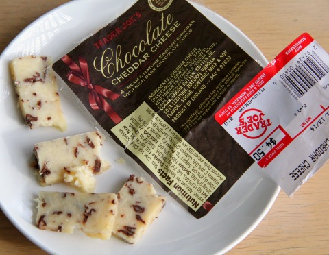 Chocolate Cheddar Cheese -- favorite things for Feb. 2014 | www.ShockinglyDelicious.com
