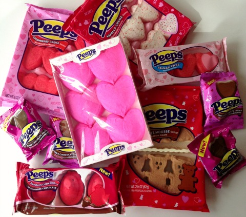 Valentine Peeps -- favorite things for Feb. 2014 | www.ShockinglyDelicious.com