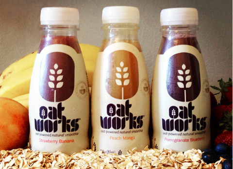 Oatworks Smoothies -- favorite things for Feb. 2014 | www.ShockinglyDelicious.com