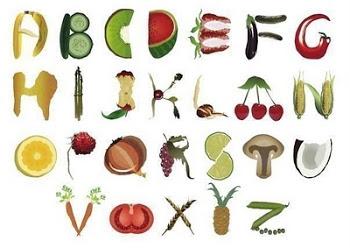 Food font