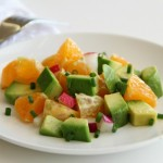 Pixie Dust Salad with Avocados, Pixie Tangerines and Radishes on ShockinglyDelicious.com