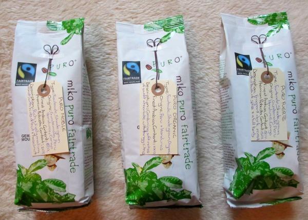 Puro Fairtrade Coffee