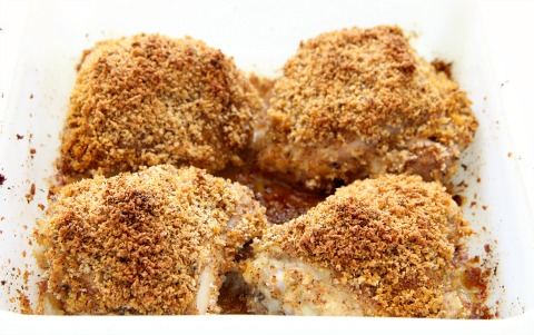 Paprika Panko Crusted Chicken Thighs Recipes — Dishmaps