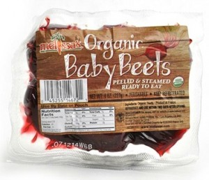 Organic Baby Beets from Melissa's Produce on Shockingly Delicious