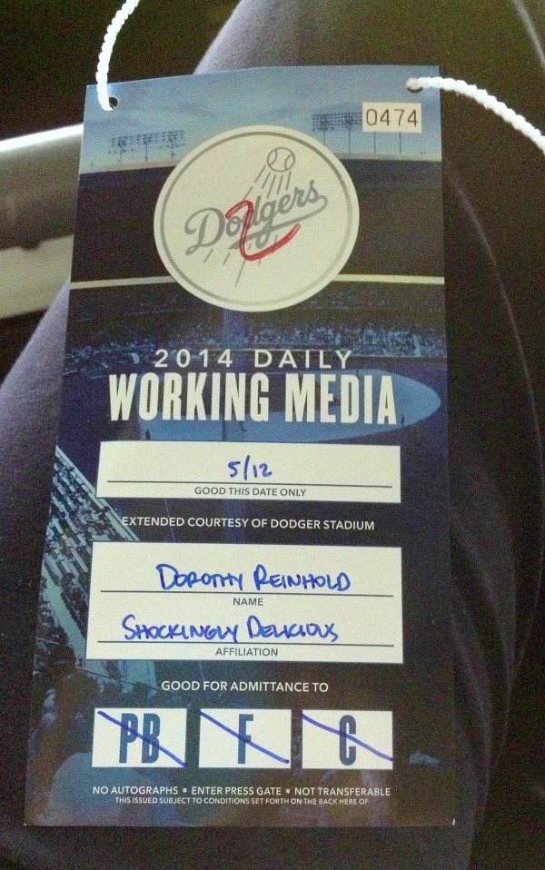 Dodger Press Pass on Shockingly Delicious