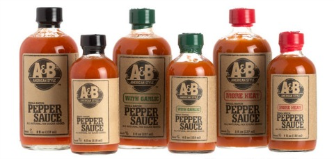 A&B American Style Pepper Sauce on Shockingly Delicious