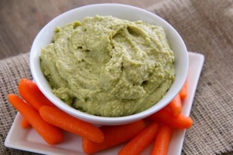 Avocado Hummus (Vegan)   ShockinglyDelicious.com