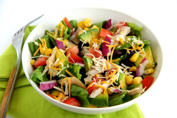 Mexican Chicken Salad: A satisfying, easy