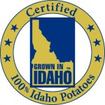Idaho Potato Logo on Shockingly Delicious
