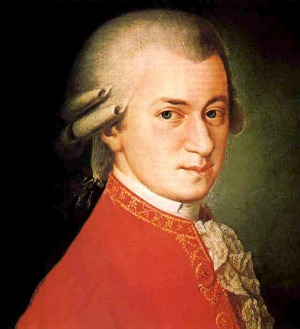 Mozart music in the iCoffee on Shockingly Delicious