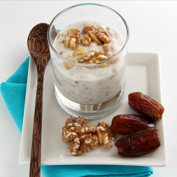 Moroccan Goat Yogurt with Dates and Preserved Lemon   Shockingly Delicious.com