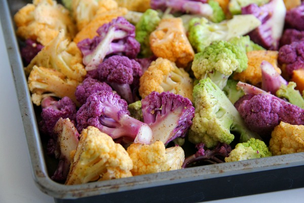 Fireworks Roasted Cauliflower | ShockinglyDelicious.com