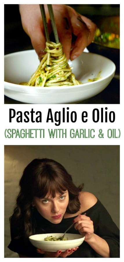 Pasta Aglio e Olio from the movie Chef on ShockinglyDelicious.com