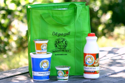 Redwood Hill Farm giveaway products on Shockingly Delicious