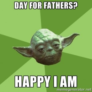 Yoda Father's Day on Shockingly Delicious