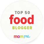Top 50 Mom Food Blogs -- ShockinglyDelicious.com