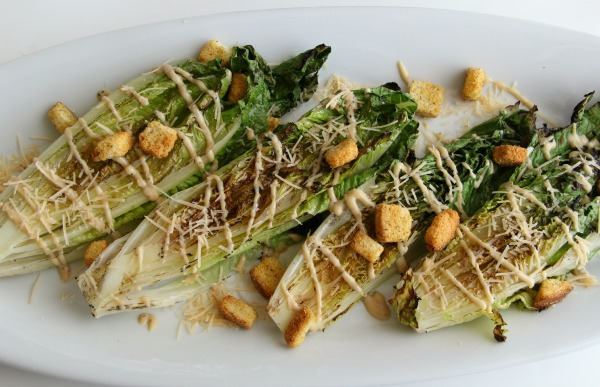 Grilled Caesar Salad | ShockinglyDelicious.com