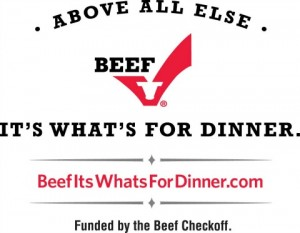 The Beef Checkoff Logo on ShockinglyDelicious.com
