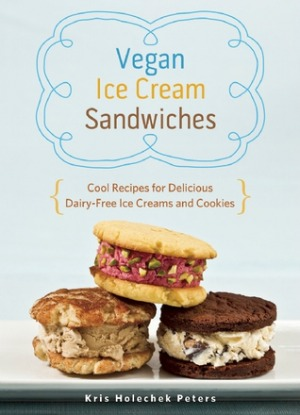 Vegan Ice Cream Sandwiches cookbook cover on Shockingly Delicious