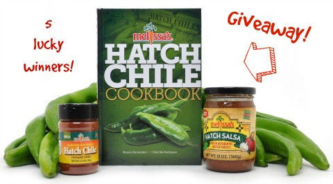 Hatch Chile Giveaway on Shockingly Delicious 5 winners | ShockinglyDelicious.com