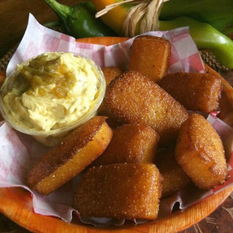 Hatch Chile Garlicky Butter on Shockinglydelicious.com