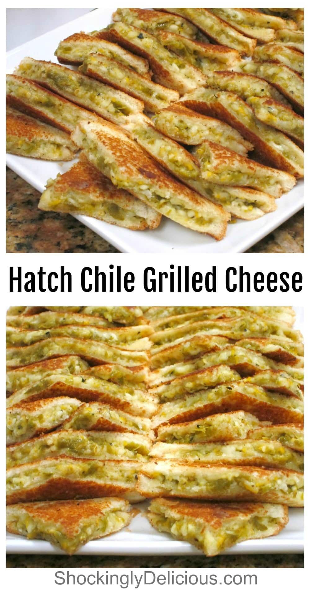 Harch Chile Grilled Cheese Sandwich photo collage