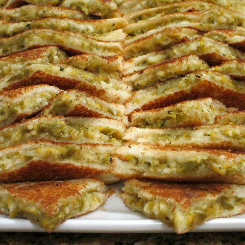 Hatch Grilled Cheese Sandwich | Hatch Chile recipe | ShockinglyDelicious.com