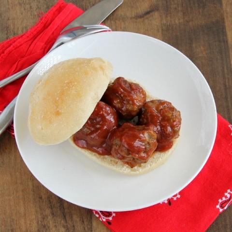 Meatball Lover's Sandwich | ShockinglyDelicious.com