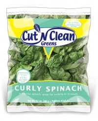 Cut N Clean Greens Spinach Bag