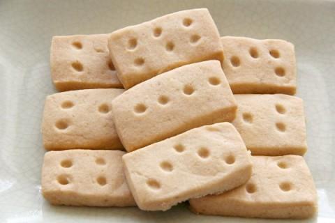 Brown Sugar Shortbread | ShockinglyDelicious.com