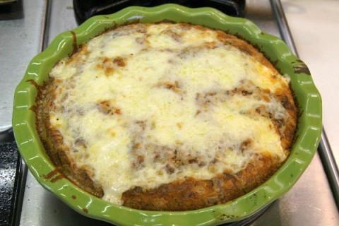 Impossible Lasagna Pie   ShockinglyDelicious.com