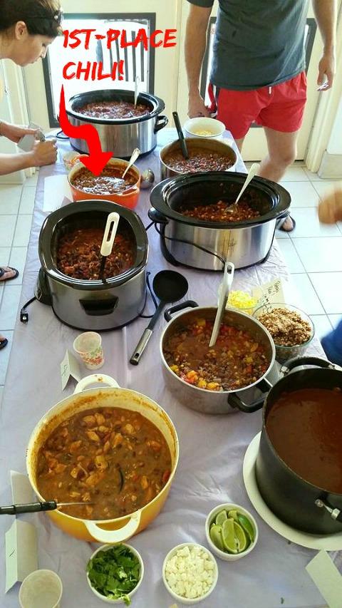 Mariposa Circle Chili Cook-Off   ShockinglyDelicious.com