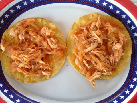 Authentic Chicken Tinga | ShockinglyDelicious.com