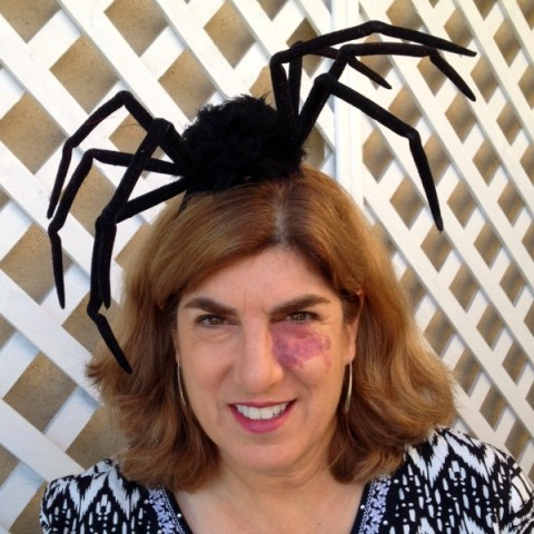 Spider Fascinator | ShockinglyDelicious.com