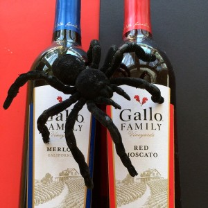 Gallo wine on Shockingly Delicious for Halloween