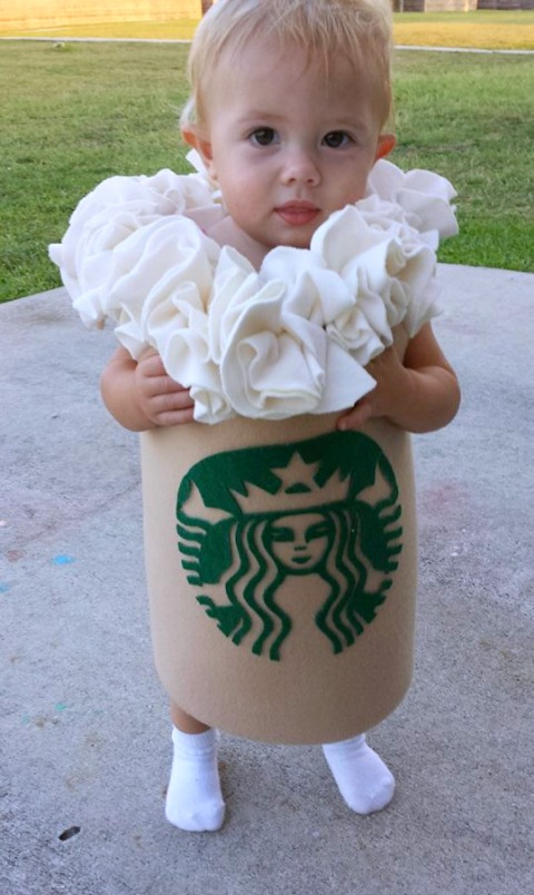 Costumes for Food Bloggers' Kids | Halloween food costumes for kids | ShockinglyDelicious.com