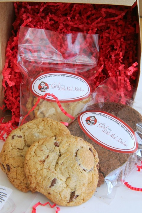 Girl in the Little Red Kitchen Cookies on Shockingly Delicious