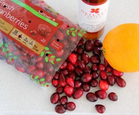 Dreamsicle Vanilla-Orange Cranberry Sauce   Vanilla Cranberry Sauce Recipe   ShockinglyDelicious.com