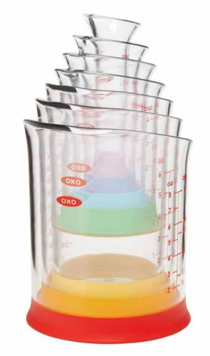 7-piece measuring beaker set from OXO