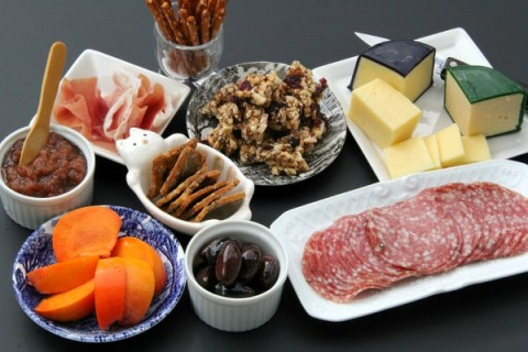 Print This Post How to Put Together a Cheese and Meat Plate | Charcuterie Platter Directions | ShockinglyDelicious. & How to Put Together a Cheese and Meat Plate | Charcuterie Platter ...