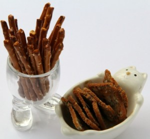 Cute serving dishes for cheese and meat plate on ShockinglyDelicious.com