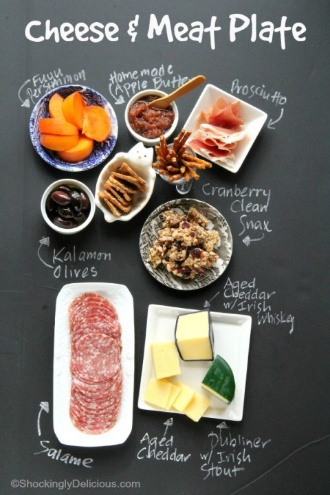 How to put together a Cheese and Meat platter on ShockinglyDelicious.com