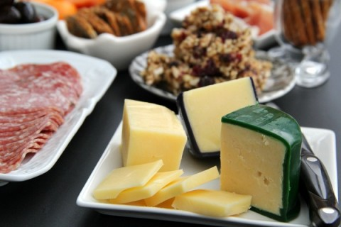 Kerrygold Cheese on cheese and meat plate on ShockinglyDelicious.com