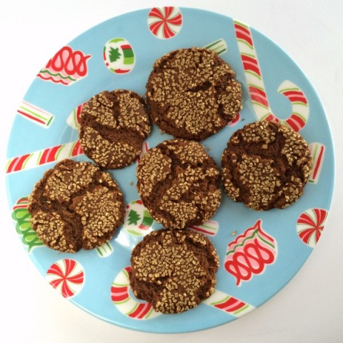 Sugar and Spice Cookie | Classic Molasses Spice Cookie Recipe | ShockinglyDelicious.com