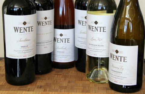 Wente Vineyards wines on ShockinglyDelicious.com