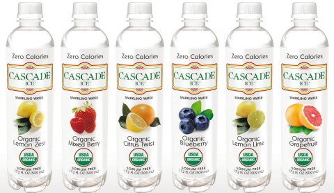 Cascade Ice Organic Water on ShockinglyDelicious.com