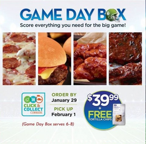Game day grub the easy way! Fresh & Easy Game Day Box | ShockinglyDelicious.com