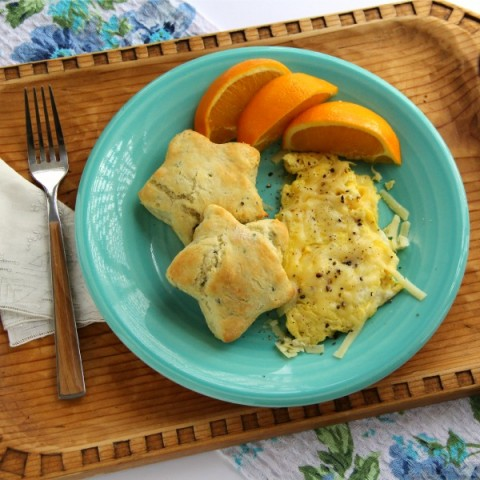Herb and Garlic Biscuits   Savory Herb Biscuit Recipe   ShockinglyDelicious.com