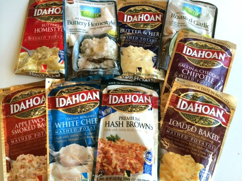 Idahoan Potatoes on ShockinglyDelicious.com